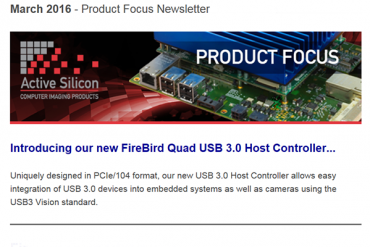 NEWSLETTER-Active-Silicon-new-USB3-host-controller-March-2016