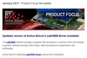 NEWSLETTER-Active-Silicon-support-for-Labview-with-dedicated-driver-January-2017