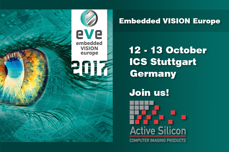 Visit us at Embedded VISION Europe