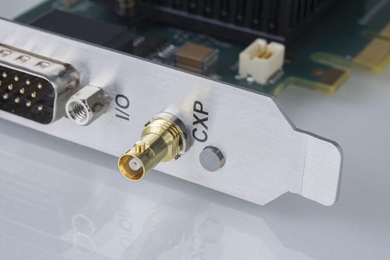 Active Silicon 1xCXP-6 Firebird CoaXPress frame grabber