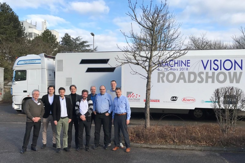 Visit us on the Machine Vision Roadshow 2018