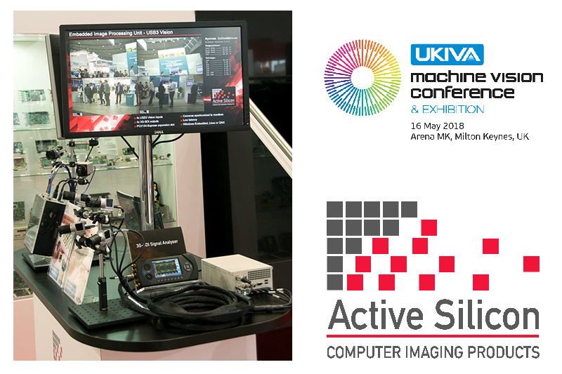 Active Silicon will demo GPU processing at UKIVA's Machine Vision Conference 2018