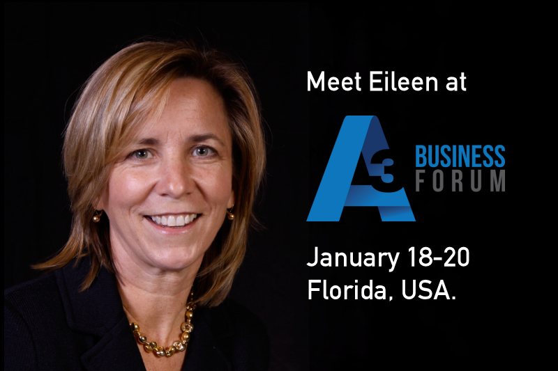 Meet Eileen from Active Silicon at the A3 Business Forum.