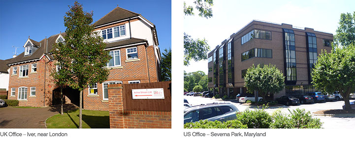 Active Silicon UK office and US office