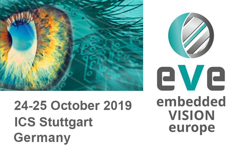 Event - Embedded Vision Europe - Stuttgart Oct 2019