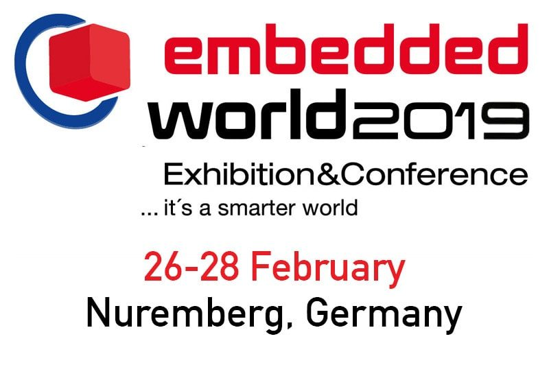 Embedded World - Tradeshow in Nuremberg, Germany