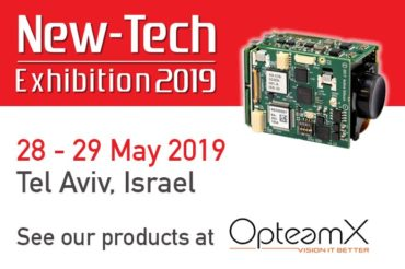 New-Tech 2019 - Visit OpteamX for Active Silicon products - Tel Aviv May 2019
