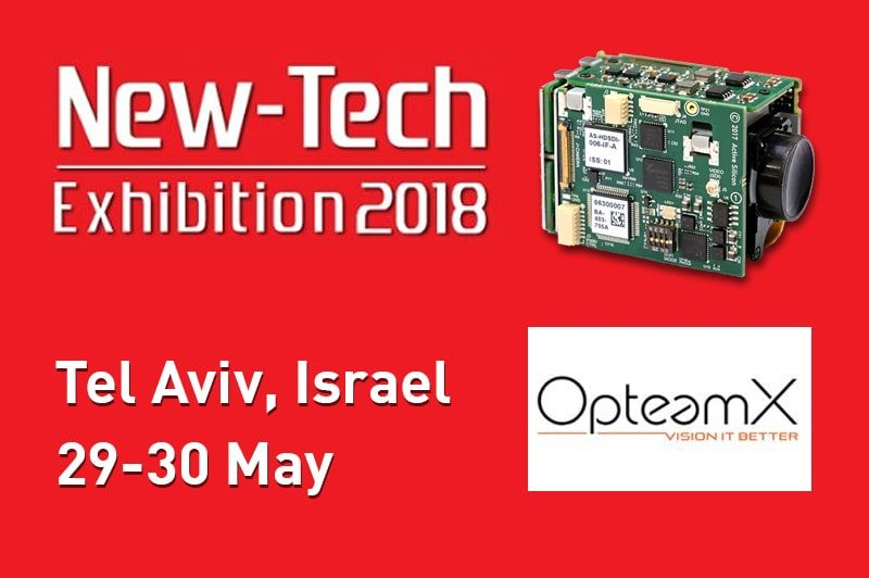 New-Tech exhibition in Tel Aviv, Israel