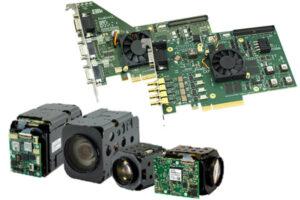 AF-zoom cameras and frame grabbers for medical applications