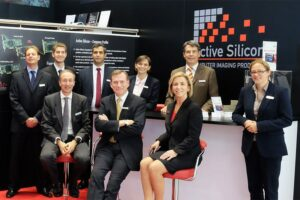 The Active Silicon team - here at the Active Silicon booth at the Vision Show Stuttgart