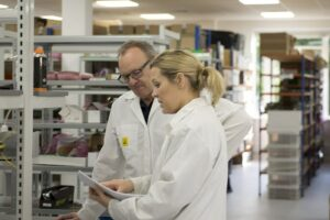 Active Silicon staff working at our operations facility in Langley, UK