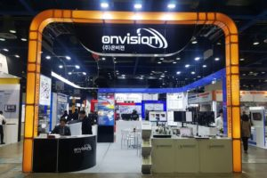 Onvision booth at the Automation World