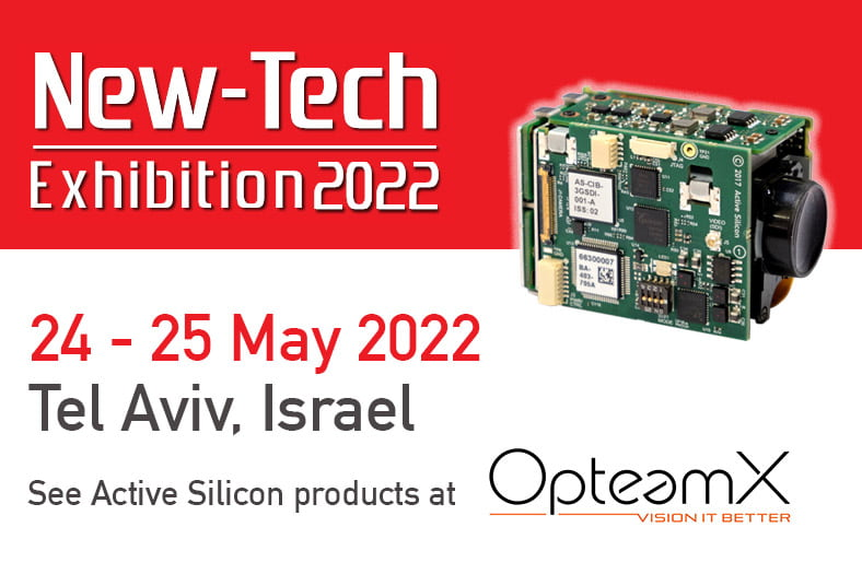 Announcement of the New Tech Exhibition 2022 in Tel Aviv, May 2022