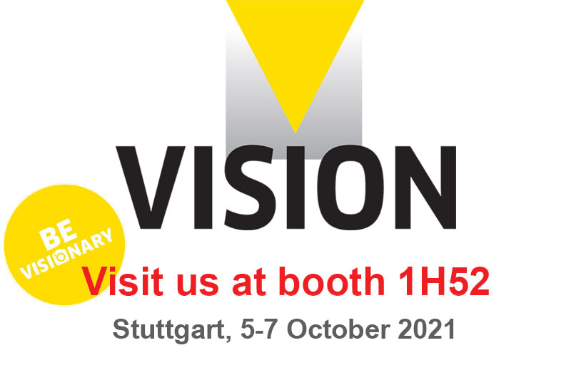 Announcement: Visit our booth at the VISION 2021 show in Stuttgart