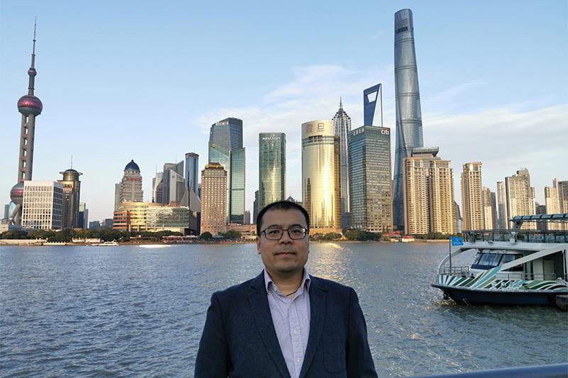 Asia BDM in Shanghai harbour