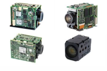 product images of 4 autofocus-zoom cameras with 3G-SDI, USB (UVC), HDMI and LVDS output