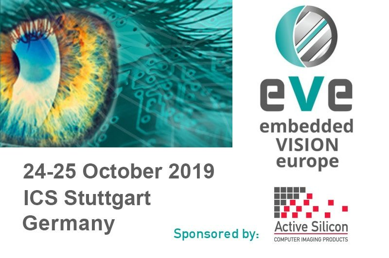 Logo of Embedded VISION Europe and Active Silicon