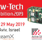 New-Tech Exhibition, 28-19 May 2019, Tel Aviv – OpteamX will demo Active Silicon products