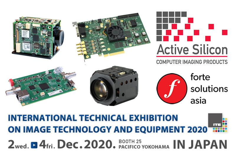 Active Silicon products presented at the ITE show