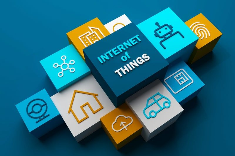 building blocks placed together representing IOT and other processing applications