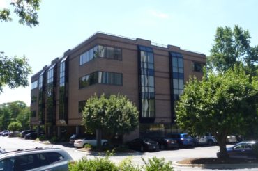 Image from outside Active Silicon;s new office in Maryland, USA