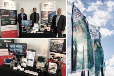 Active Silicon team and booth at Embedded Vision Europe 2019