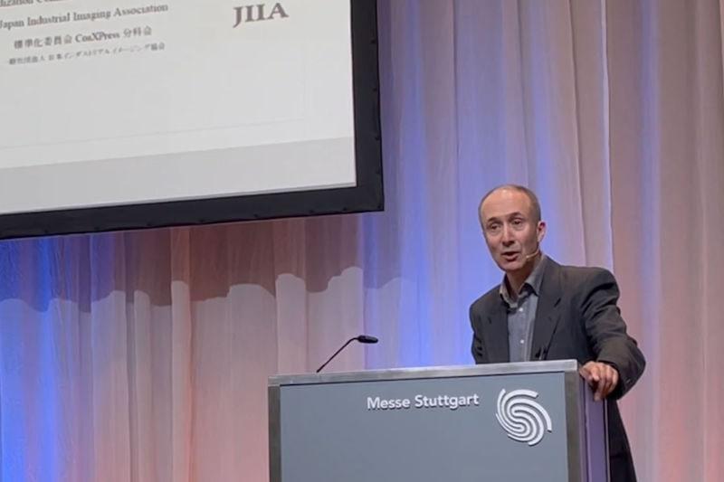 Active Silicon CTO presenting at VISION 2021