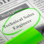 Highlighed job ad for Technical Sales Engineer