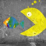 Big fish representing Teledyne Technologies to acquire small fish representing FLIR Systems