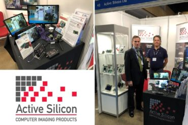 Active Silicon booth at the UKIVA machine vision conference