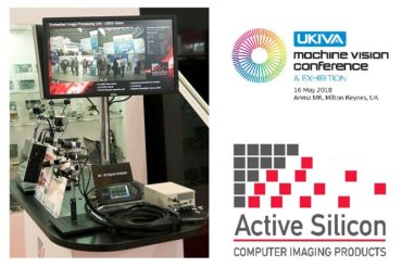 photo of embedded vision system running USB3 camera demo