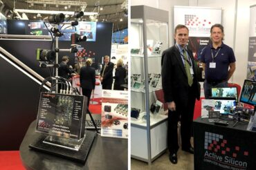 Photos of Active Silicon team at Vision show and Machine Vision Conference