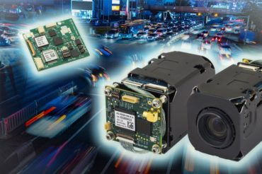 Active Silicon's harrier camera interface board mounted on a Sony FCB-EV7520A