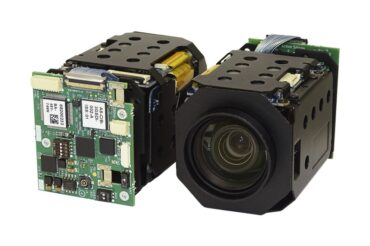 Product photo of the Harrier 10x AF-Zoom Camera with 3G-SDI output
