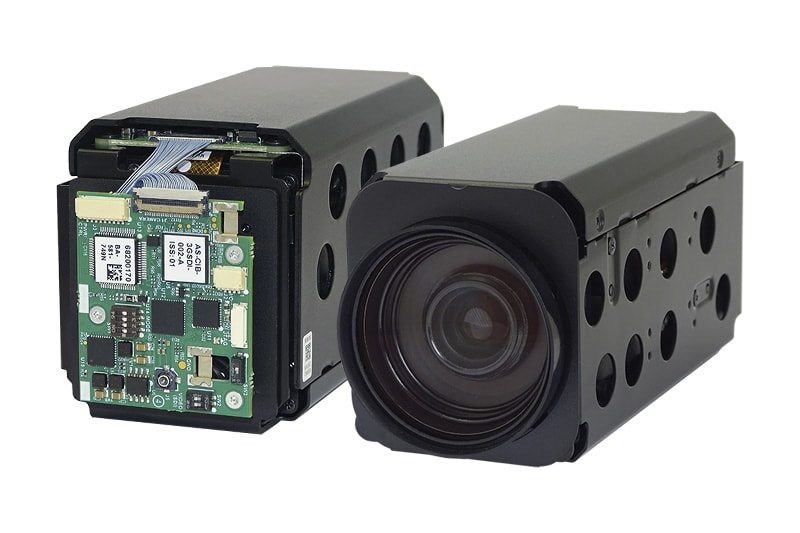 Product Photo of the HD-SDI AF-Zoom Block Camera with Tamron MP2030M-GS global shutter sensor