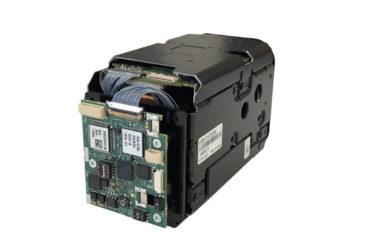 The Harrier 3G-SDI Camera Interface Board mounted to a Sony FCB EV7520A camera.