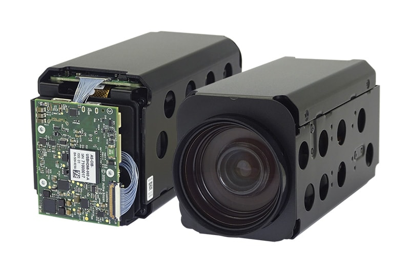 Product Photo of the USB / HDMI AF-Zoom Block Camera with Tamron MP2030M-GS featuring a global shutter sensor