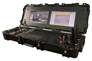 A communications command and control terminal by Steatite