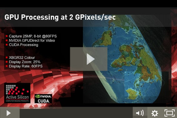 Image links to video about a GPU Processing demo