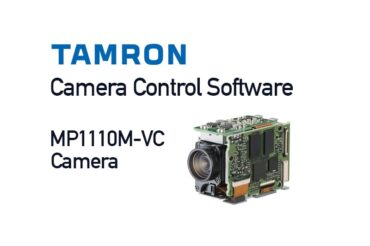 Camera Control Software for Tamron MP1110M-VC cameras